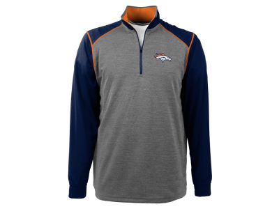 Denver Broncos NFL Men's Breakdown 1/4 Zip Pullover Shirt
