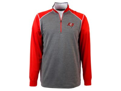 Tampa Bay Buccaneers NFL Men's Breakdown 1/4 Zip Pullover Shirt