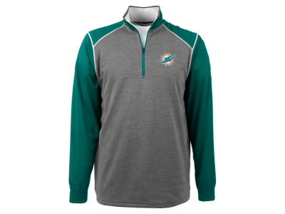 Miami Dolphins NFL Men's Breakdown 1/4 Zip Pullover Shirt