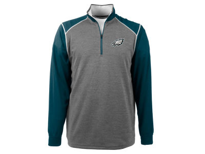 Philadelphia Eagles NFL Men's Breakdown 1/4 Zip Pullover Shirt