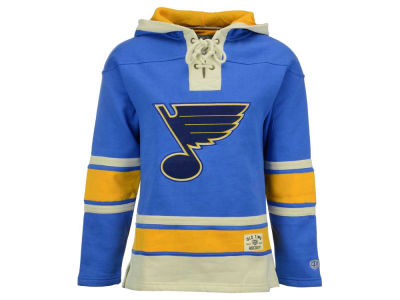 St. Louis Blues Old Time Hockey NHL Men's Lacer Hoodie