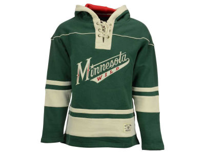Minnesota Wild Old Time Hockey NHL Men's Lacer Hoodie