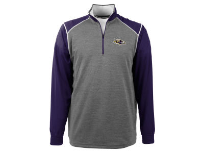 Baltimore Ravens NFL Men's Breakdown 1/4 Zip Pullover Shirt