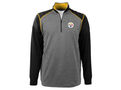 Pittsburgh Steelers NFL Men's Breakdown 1/4 Zip Pullover Shirt