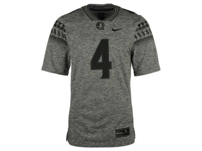 Florida State Seminoles Nike NCAA Men's Gridiron Grey Jersey