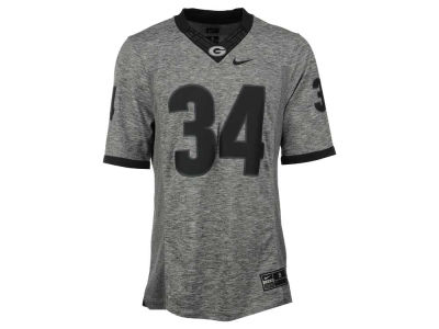 Georgia Bulldogs Nike NCAA Men's Gridiron Grey Jersey