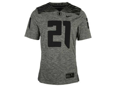 Oregon Ducks Nike NCAA Men's Gridiron Grey Jersey