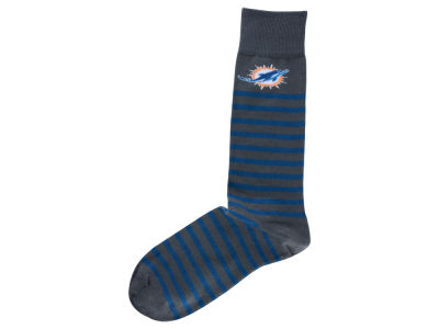 Miami Dolphins Thin Stripes Socks