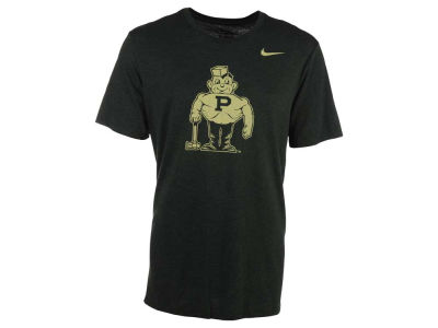 Purdue Boilermakers Nike NCAA Men's Triblend Logo Plus T-Shirt