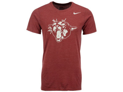 Washington State Cougars Nike NCAA Men's Triblend Logo Plus T-Shirt