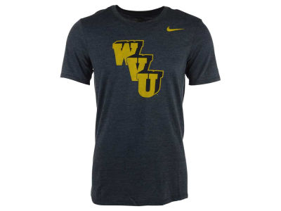 West Virginia Mountaineers Nike NCAA Men's Triblend Logo Plus T-Shirt