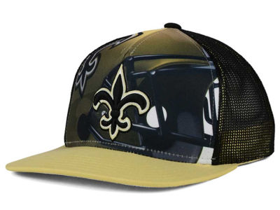 New Orleans Saints Outerstuff NFL Youth Stealth Snapback Cap