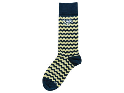 Pittsburgh Penguins Chevron Stripe Socks