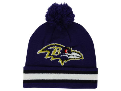 Baltimore Ravens Outerstuff NFL Toddler Cuff Pom Knit