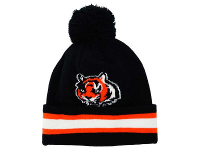 Cincinnati Bengals Outerstuff NFL Toddler Cuff Pom Knit