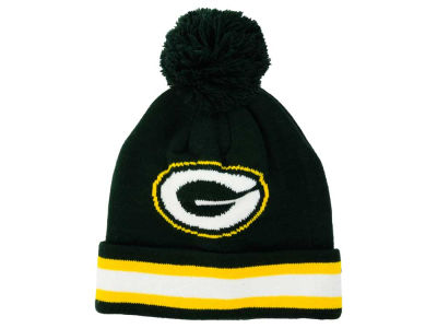 Green Bay Packers Outerstuff NFL Toddler Cuff Pom Knit