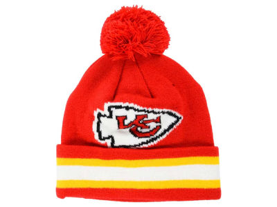 Kansas City Chiefs Outerstuff NFL Toddler Cuff Pom Knit