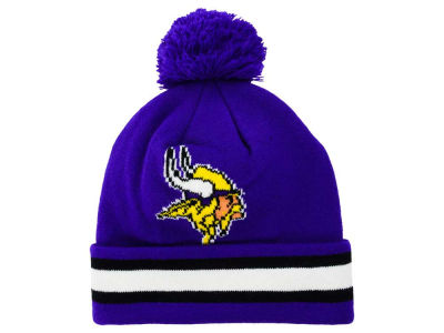 Minnesota Vikings Outerstuff NFL Toddler Cuff Pom Knit
