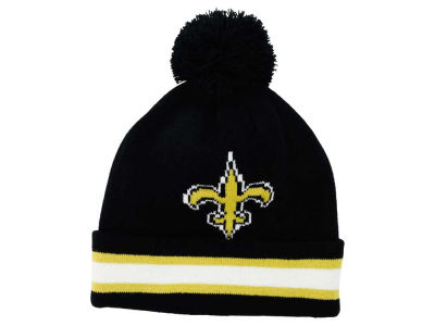 New Orleans Saints Outerstuff NFL Toddler Cuff Pom Knit
