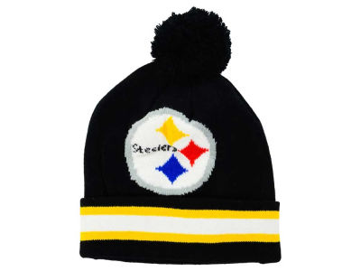 Pittsburgh Steelers Outerstuff NFL Toddler Cuff Pom Knit