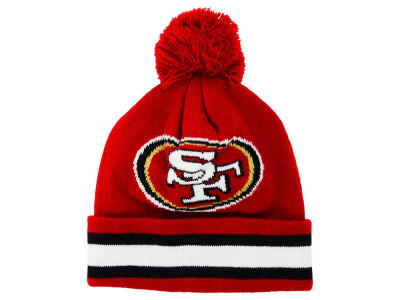 San Francisco 49ers Outerstuff NFL Toddler Cuff Pom Knit