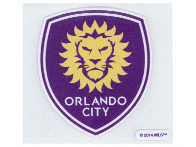 Orlando City SC 4x4 Die Cut Decal Color