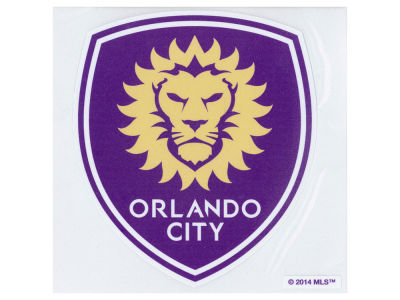 Orlando City SC Die Cut Color Decal 8in X 8in