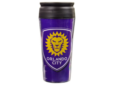 Orlando City SC 16oz Contour Travel Mug