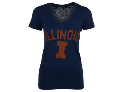 Illinois Fighting Illini NCAA Women's Vintage Arch T-Shirt