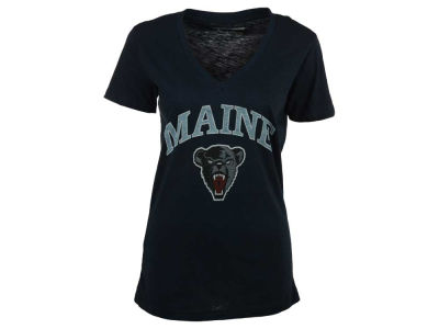 Maine Black Bears Pressbox NCAA Women's Vintage Arch T-Shirt