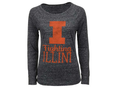 Illinois Fighting Illini NCAA Women's Aggie Long Sleeve T-Shirt