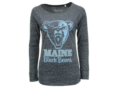 Maine Black Bears Pressbox NCAA Women's Aggie Long Sleeve T-Shirt