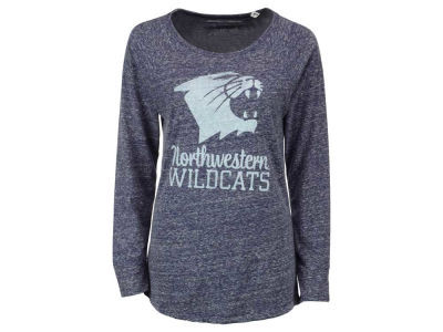 Northwestern Wildcats NCAA Women's Aggie Long Sleeve T-Shirt