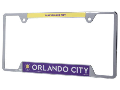 Orlando City SC Racing Metal License Frame
