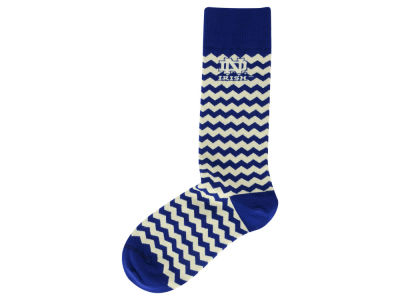 Notre Dame Fighting Irish Chevron Stripe Socks