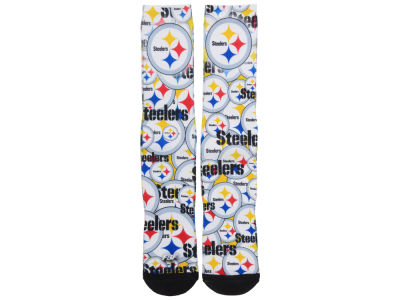Pittsburgh Steelers Montage Socks