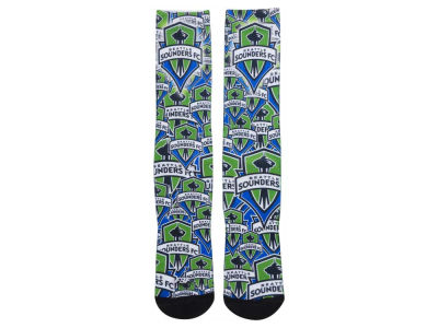 Seattle Sounders FC Montage Socks