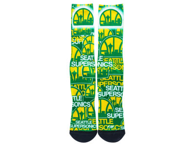 Seattle SuperSonics For Bare Feet Montage Socks