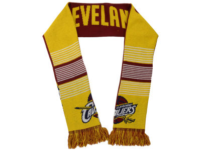 Cleveland Cavaliers Acrylic Knit Scarf Reversible Split Logo
