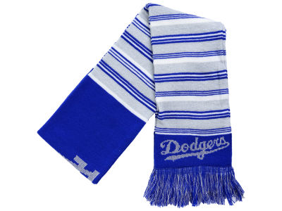Los Angeles Dodgers Acrylic Glitter Stripe Scarf