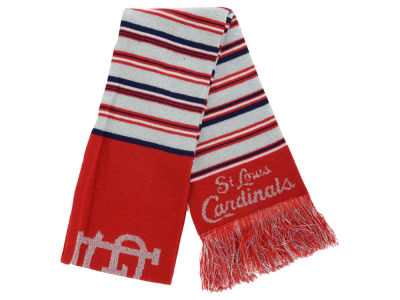 St. Louis Cardinals Acrylic Glitter Stripe Scarf