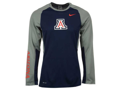 Arizona Wildcats Nike NCAA Men's Elite Shootaround Long Sleeve T-Shirt