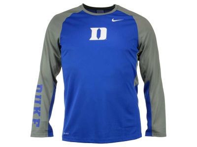Duke Blue Devils Nike NCAA Men's Elite Shootaround Long Sleeve T-Shirt
