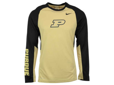 Purdue Boilermakers Nike NCAA Men's Elite Shootaround Long Sleeve T-Shirt