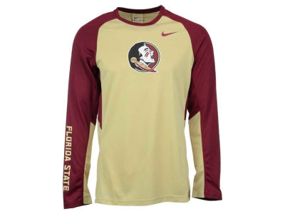 Florida State Seminoles Nike NCAA Men's Elite Shootaround Long Sleeve T-Shirt