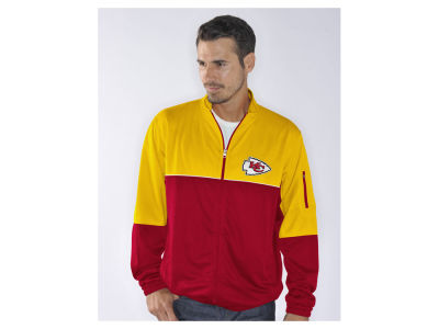 Kansas City Chiefs GIII NFL Men's Flip Shot Track Jacket