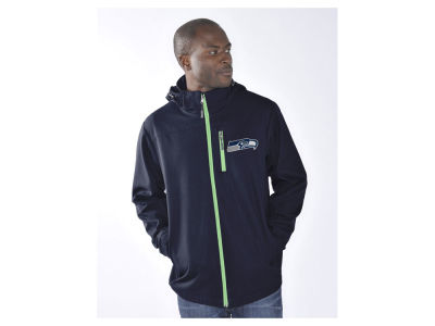Seattle Seahawks GIII NFL Men's Reverse Hooded Jacket