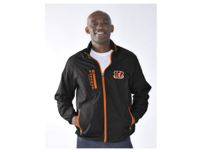Cincinnati Bengals NFL Men's Game Plan Lightweight Jacket