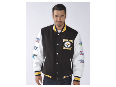 Pittsburgh Steelers NFL Men's Game Ball Commemorative Jacket