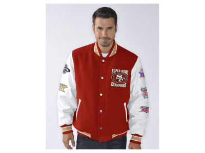 San Francisco 49ers NFL Men's Game Ball Commemorative Jacket